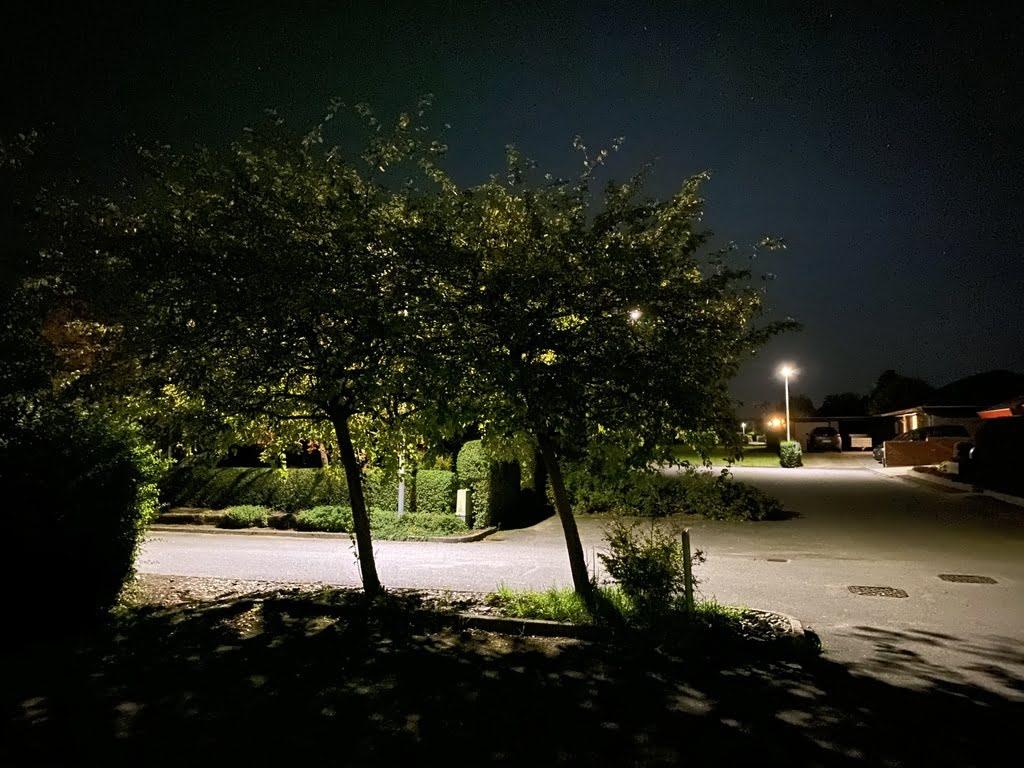 Taget med iPhone 11 Pro, nattilstand
