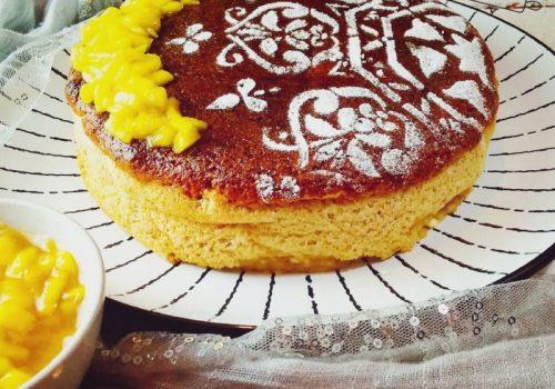 cheesecake de albaricoque