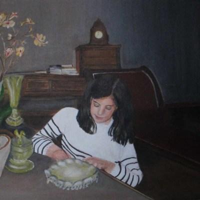 la jeune fille et la lettre