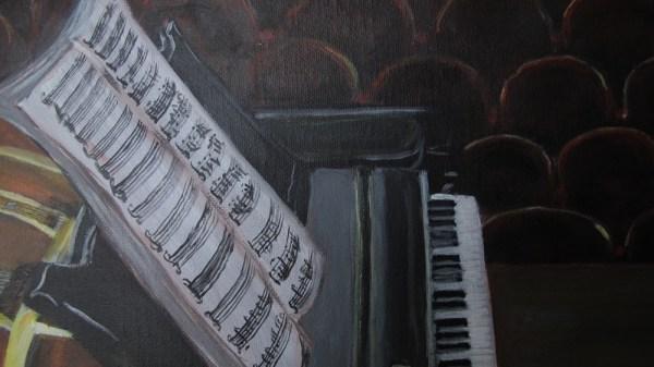 Détail piano avant concert