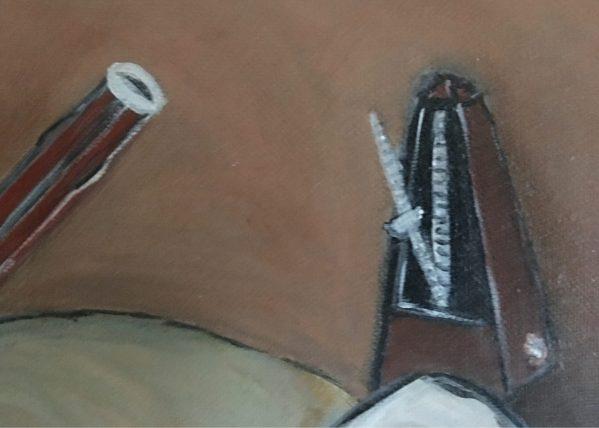 Peinture au Metronome détail