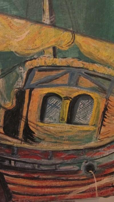 Détail peinture coffre