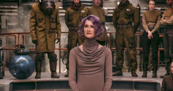 Amilyn Holdo ผู้มารักษาการณ์แทน Leia