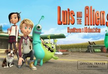 luis and the aliens trailer cover