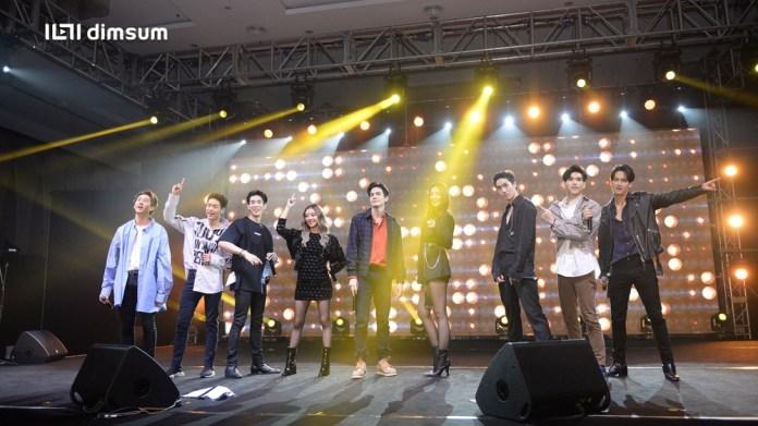 """ทีมนักแสดงจากนาดาวจัดโชว์เคส """"Dimsum Thai Pop 2019 เพื่อแฟนๆ ชาวมาเลเซีย"""
