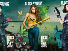 Birds Of Prey characters poster