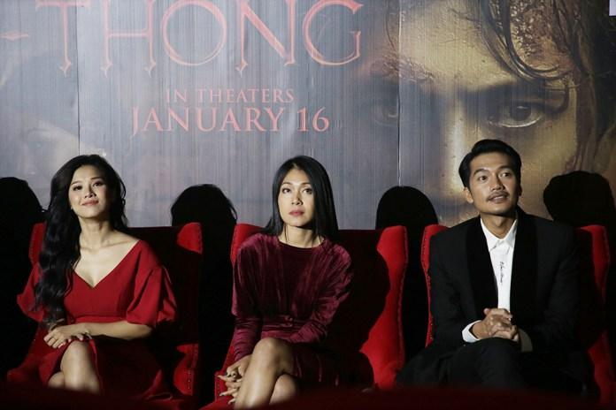 บรรยากาศงานเปิดตัว กุมารทอง ราคะ-เฮี้ยน รอบแรกในไทย นำทีมโดย 3 นักแสดงจากเวียดนาม หว่าง เอี๊ยน จีบี, กวาง ต๋วน และดิง อี ยอูง
