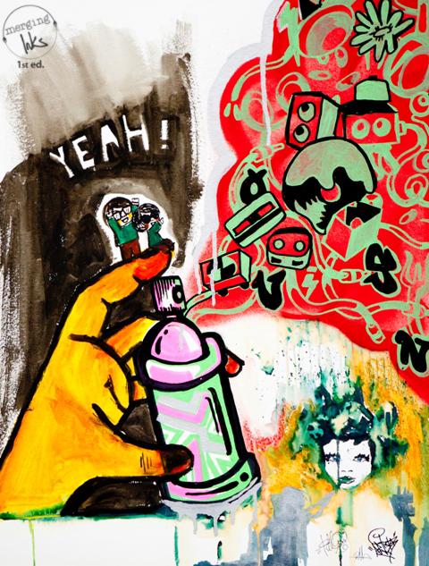 merging inks Yeah