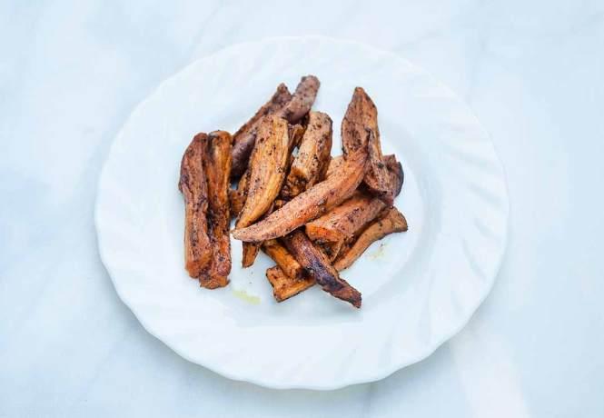 baked potato fries