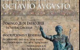 El próximo 28 de enero se celebra la IX Ruta Monumental Senderista Octavio Augusto