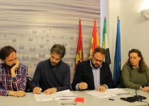 El acuerdo presupuestario celebrado entre IU Mérida y el PSOE se ha traducido en la incorporación de 14 medidas pactadas