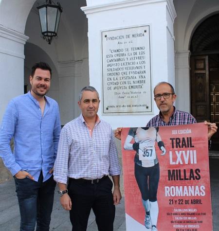 850 corredores participarán en la XIX edición de las LXVII Millas Romana