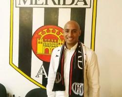 """""""La afición que tiene el Mérida me convenció para venir aquí y aceptar el reto"""""""
