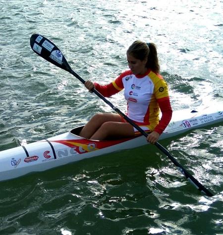 La piragüista emeritense Estefanía Fernández, competirá el próximo fin de semana en el Campeonato de España de Sprint Olímpico