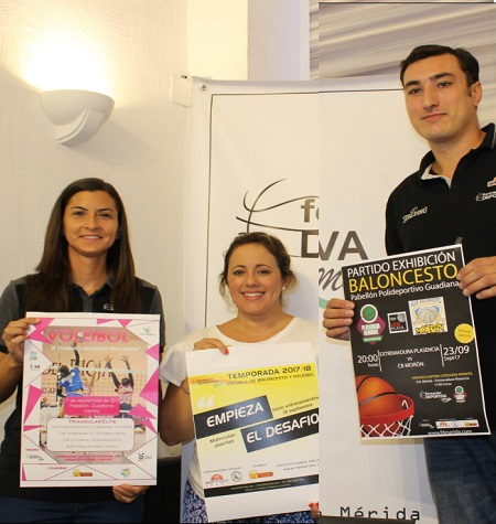 El club Formación Deportiva Mérida organiza el domingo el X Torneo Ibérico Mujeres de voleibol