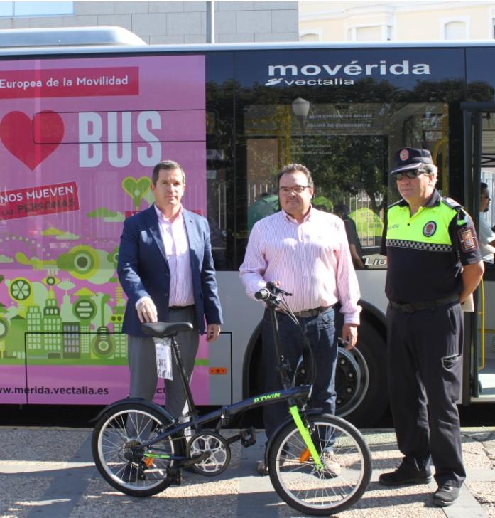 Mérida entre las 466 poblaciones españolas que celebran la Semana Europea de la Movilidad 2017