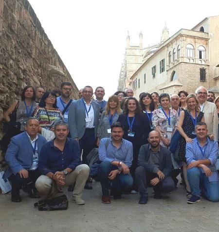 Pedro Blas Vadillo asiste al XI Encuentro de Gestores de Patrimonio Mundial en Mallorca