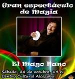 El Mago Nano, un espectáculo para toda la familia,cuya recaudación se destinará ala Cofradía Infantil
