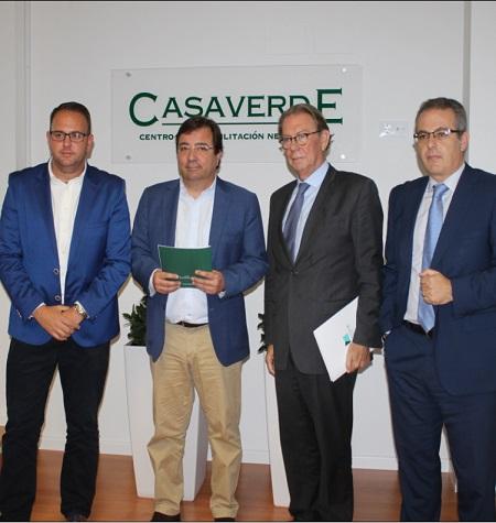 Casaverde celebra su V aniversario en Mérida como Hospital de referencia en rehabilitación funcional