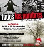 """""""Exposición Todos (…) los nombres"""", del 17 al 29 de noviembre en el Centro Cultural Alcazaba"""