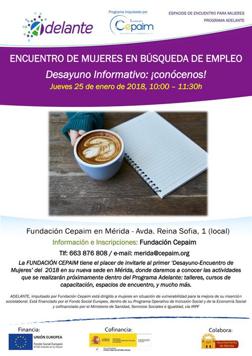 Encuentro de mujeres en búsqueda de empleo, el 25 de enero en Mérida