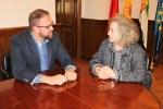 Rodríguez Osuna recibe a la presidenta del Consejo Económico y Social
