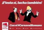 IU-Mérida afirma que el PSOE censura la publicación de un anuncio en la Revista del Carnaval.