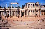 El Consorcio reanuda las obras de restauración del frente escénico del Teatro Romano de Mérida