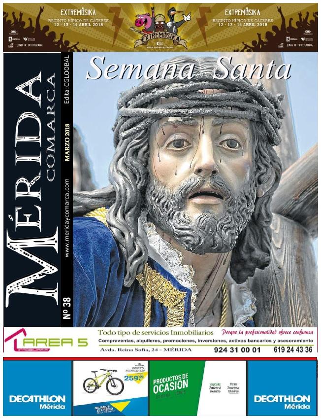 Periódico MeridaComarca Marzo 2018 – Edición Impresa