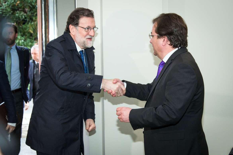 Vara recuerda a Rajoy que las infraestructuras son una de las principales reivindicaciones de Extremadura