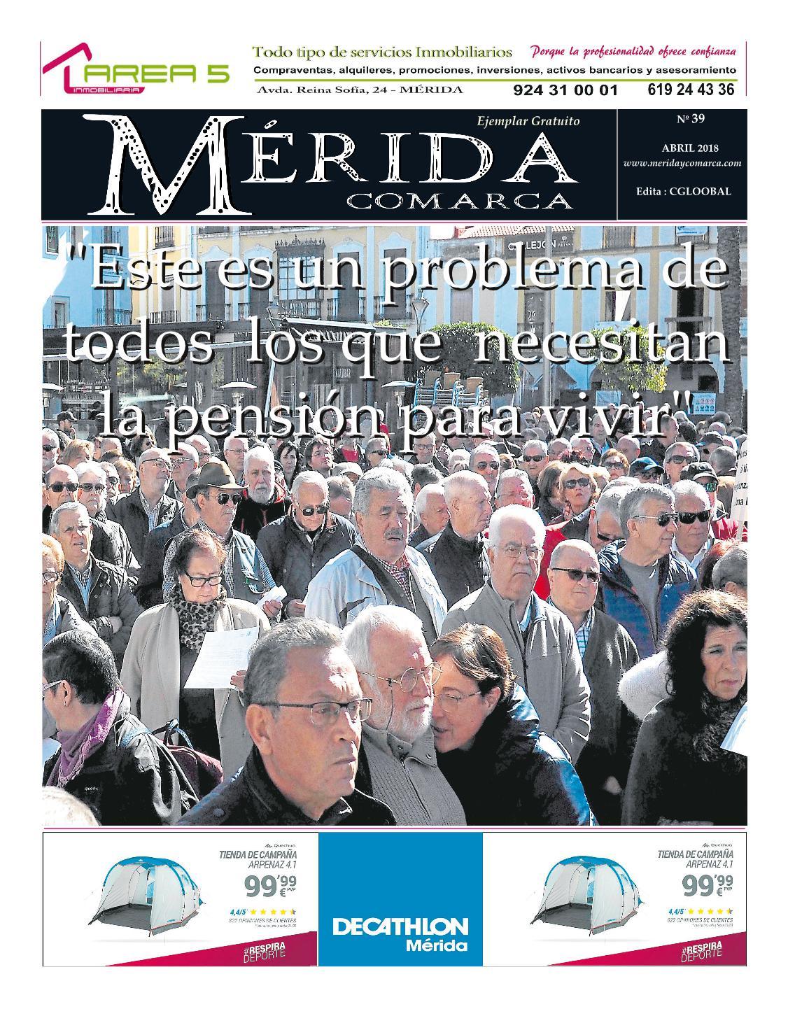 El Periódico MeridaComarca del mes de abril ya se encuentra en sus lugares habituales de distribución