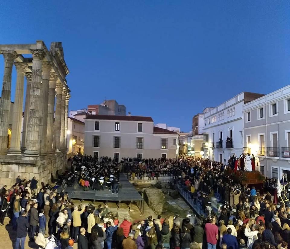 El número de visitantes en Mérida durante la Semana Santa aumenta en un 2,5%