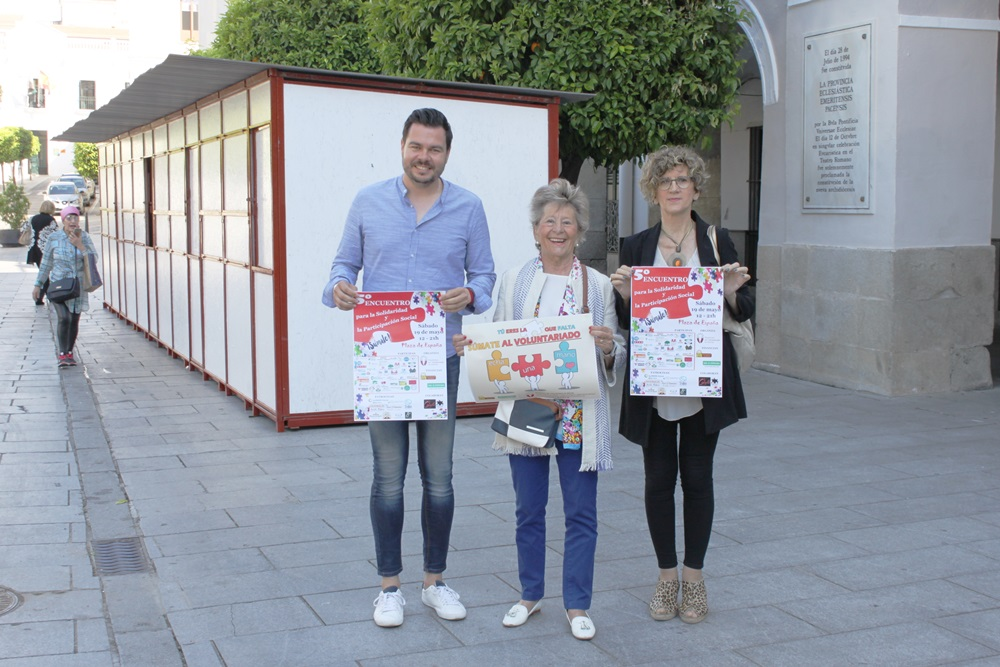 5º Encuentro para la Solidaridad y la Participación Social, este sábado, en la Plaza de España
