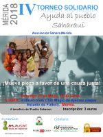 IV Torneo de Ajedrez Solidario, ayuda al pueblo saharaui, en Mérida
