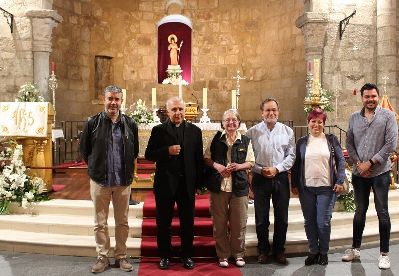 La basílica de Santa Eulalia se abre al visitante y complementa la que se hace a su cripta