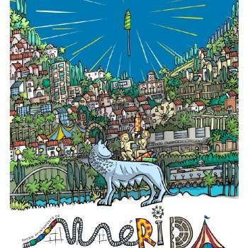 El emeritense Ramón Manuel Garrido García gana el concurso del cartel de la feria de septiembre