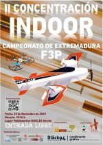 Campeonato de Extremadura F3P INDOOR el domingo en el pabellón Diocles