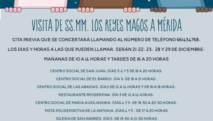 Se abre el plazo de solicitud de cita previa para visitar a los Reyes Magos en distintas zonas de la ciudad