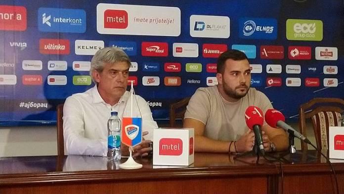 """Milinković, Zoran Milinković na predstavljanju: """"Ambicije su velike, Borac će biti ta ekipa koja igra za gol više"""""""