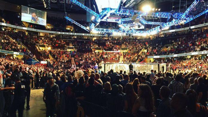 UFC 261 crowd