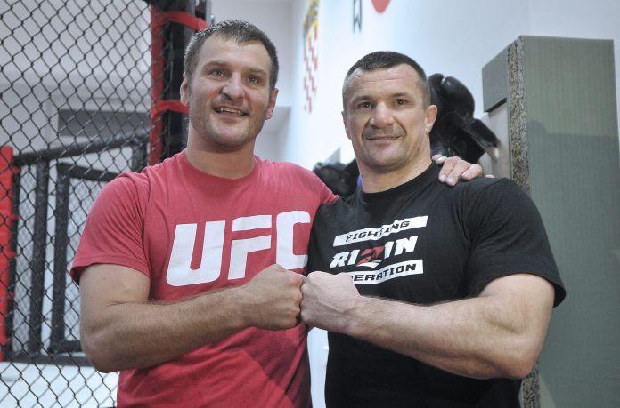 Mirko Cro Cop i Stipe Miočić