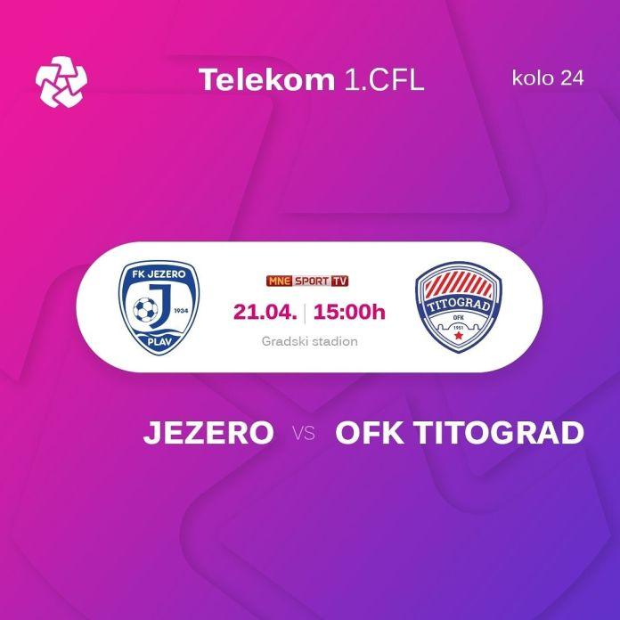 Zaostali meč Telekom 1.CFL