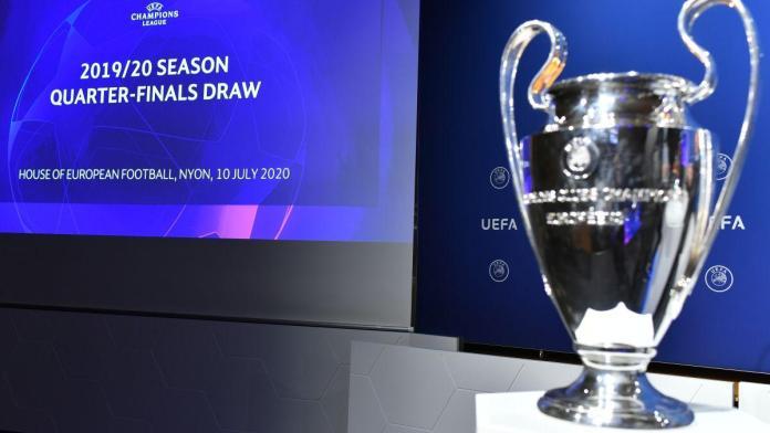Champions League, EMPAREJADAS LAS LLAVES DE LA CHAMPIONS LEAGUE