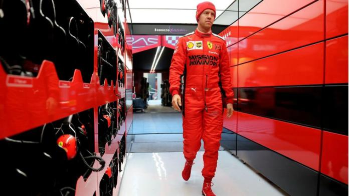 "Vettel, VETTEL: ""VOY A TRATAR DE DAR EL MAXIMO"""
