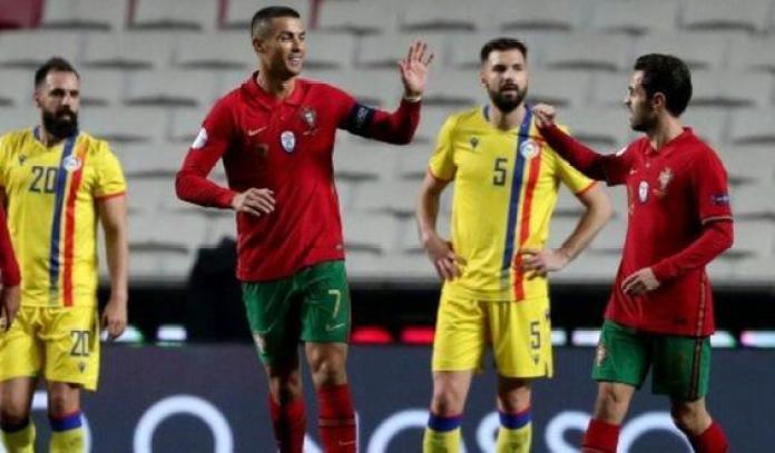 Andorra, PORTUGAL APLASTÓ Y HUMILLÓ A ANDORRA POR 7-0
