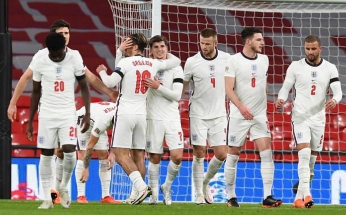 Islandia, INGLATERRA GOLEÓ A ISLANDIA POR 4-0