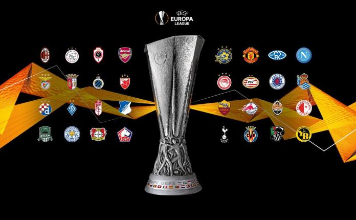 Europa League, DEFINIDOS LOS DIECISEISAVOS DE FINAL DE LA EUROPA LEAGUE