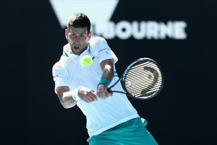 Djokovic Australian Open, DJOKOVIC A TERCERA RONDA DEL AUSTRALIAN OPEN