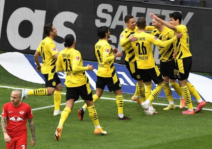 Dortmund Leipzig, DORTMUND SE LLEVÓ LOS TRES PUNTOS