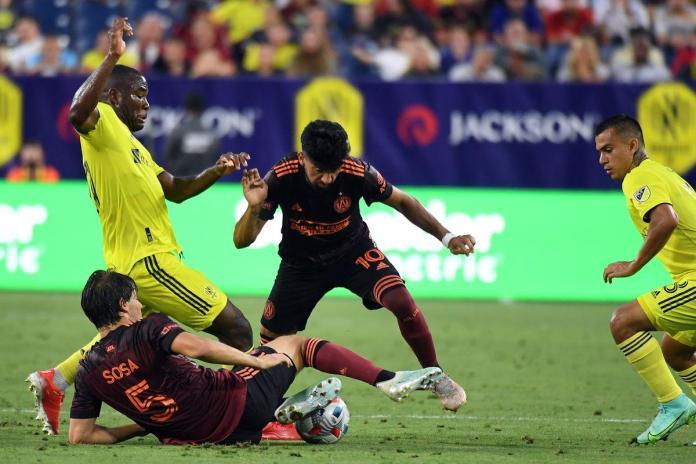 Atlanta Nashville, NASHVILLE Y ATLANTA IGUALARON 2-2 EN LA MLS